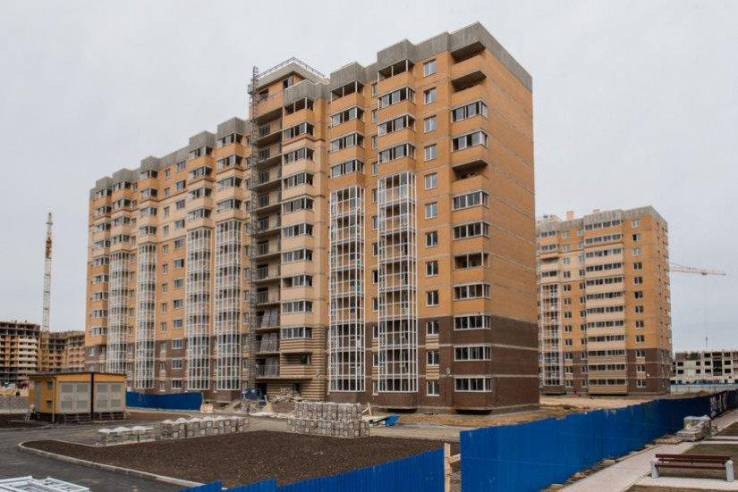 Новое Янино фасады