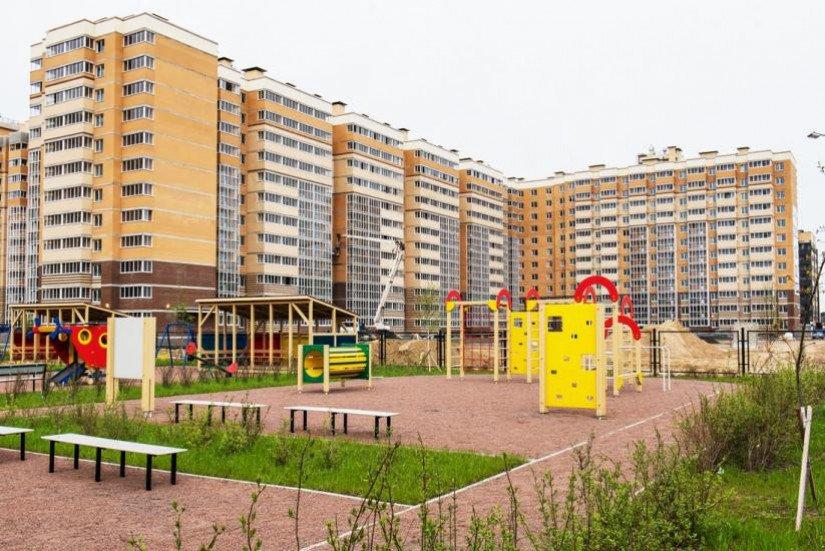 Новое Янино детская площадка