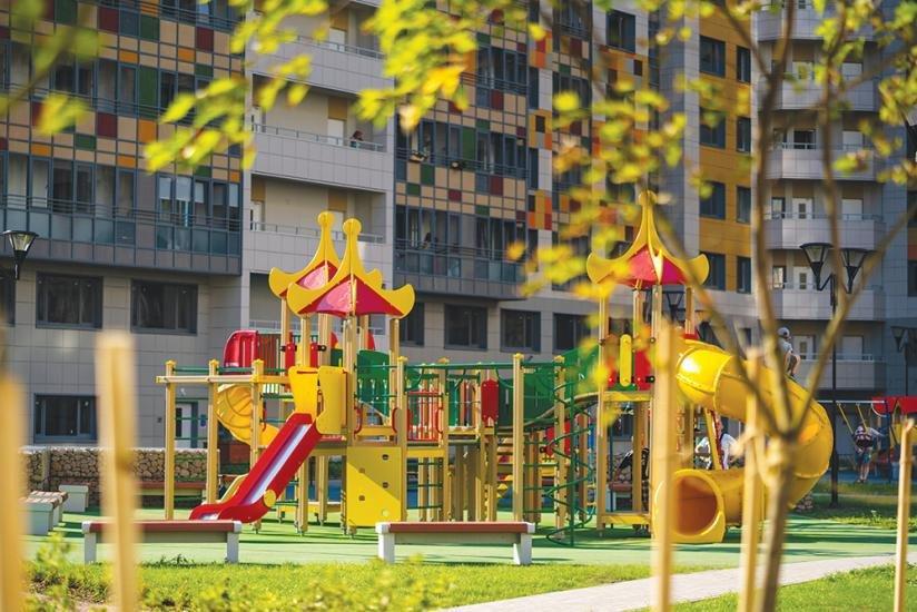 ЖК «Триумф Парк» детская площадка