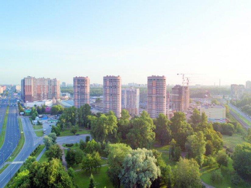 ЖК «Приморский квартал» панорама