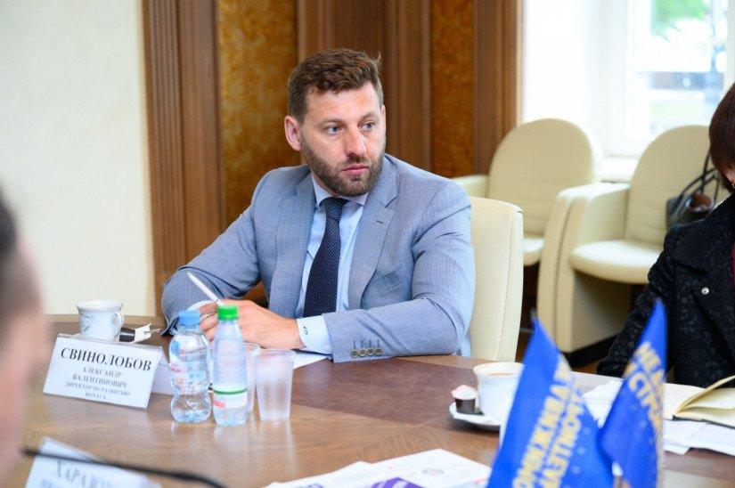 Александр Свинолобов Александр Свинолобов NSP.RU конференция недвижимость и строительство