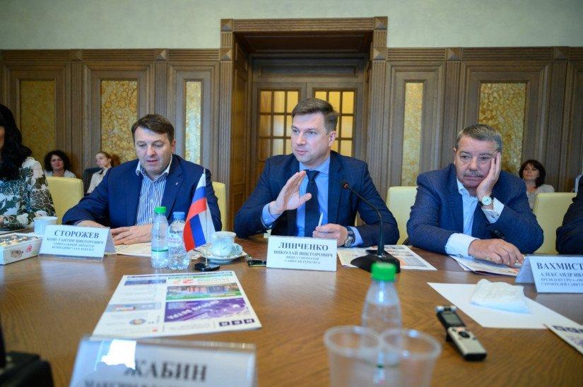 Линченко, Вахмистров, Сторожев NSP.RU конференция недвижимость и строительство
