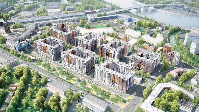 ЦДС «Чёрная Речка» схема строительства