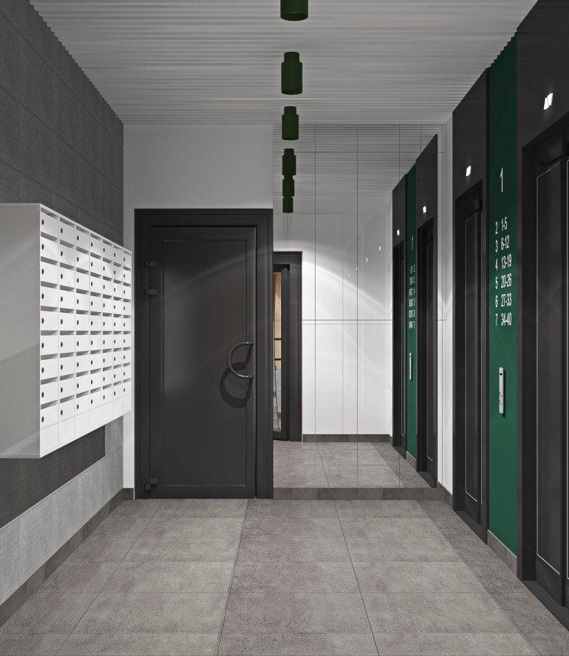 ЖК-Terra-лифтовый- холл