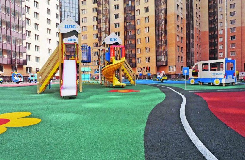 ЖК «Новый Оккервиль» детские площадки