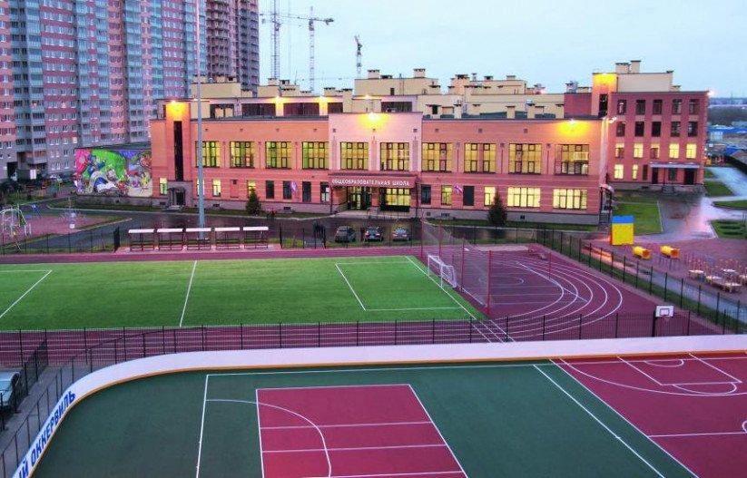 ЖК «Новый Оккервиль» спортивные площадки