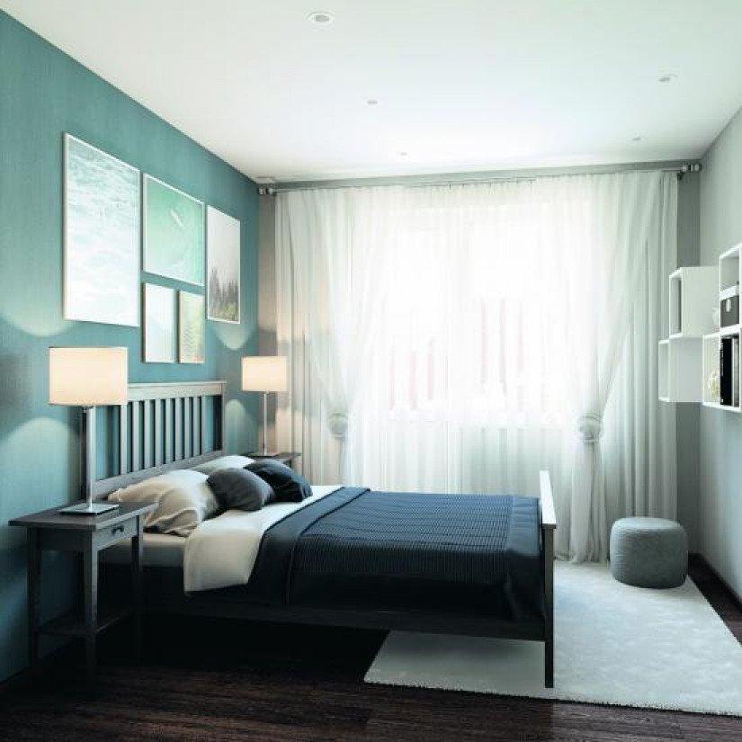 «Wings. Апартаменты на Крыленко» апатрамент спальня