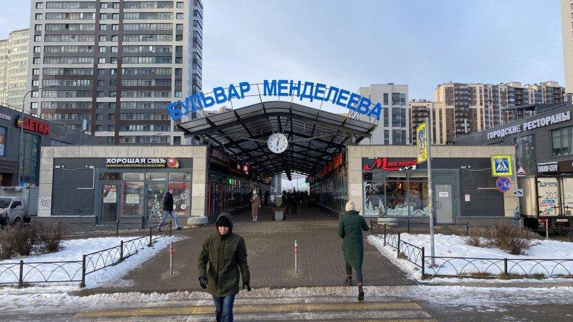 Павильоны на Бульваре Менделеева (первая очередь). Фото:  Анастасия Подгорная, NSP