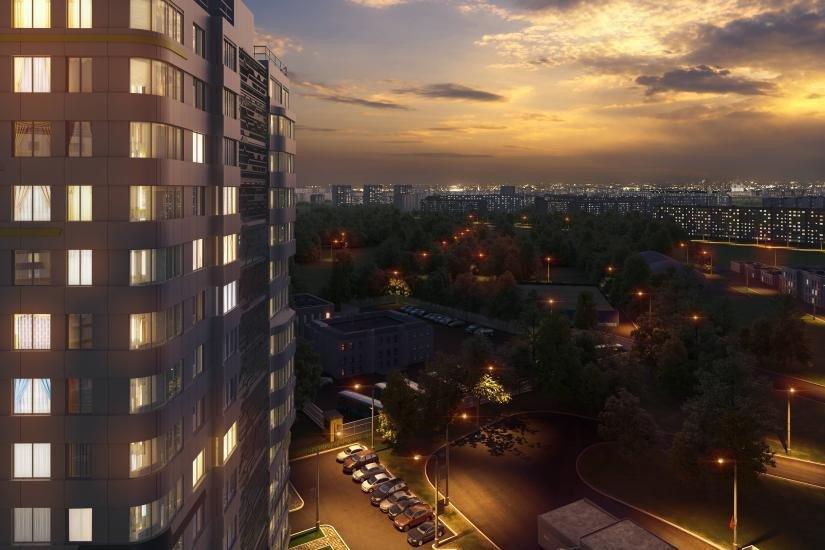 ЖК дом на Львовской вид из окон
