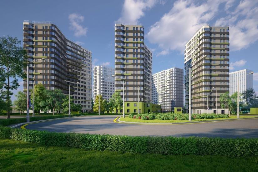ЖК дом на Львовской  панорама
