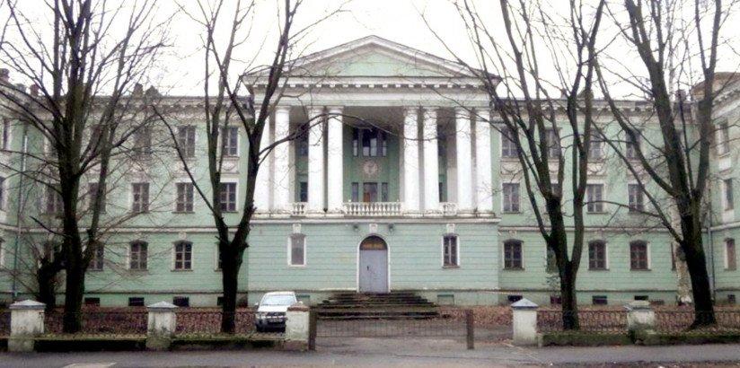 Здание заводской медсанчасти на ул. Одоевского