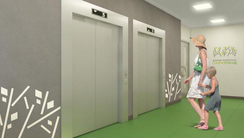 «ПаркЛэнд»  лифтовой холл
