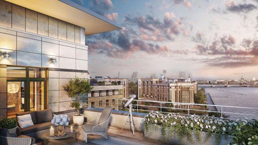 Комплекс апартаментов «Royal Park» вид из окон