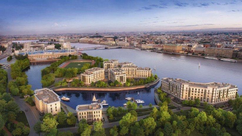 Комплекс апартаментов «Royal Park» панорама