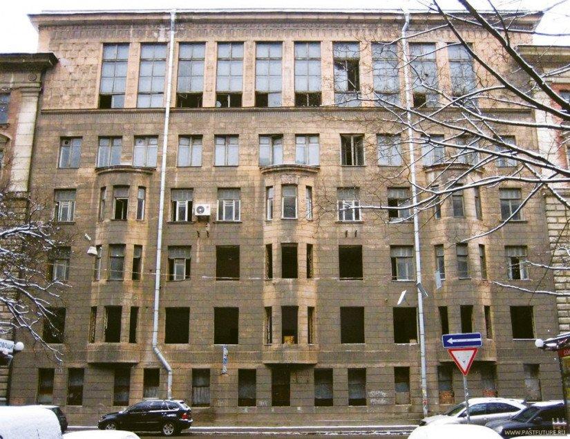 Комплекс зданий института «Гидроэнергопроект» на Малом проспекте