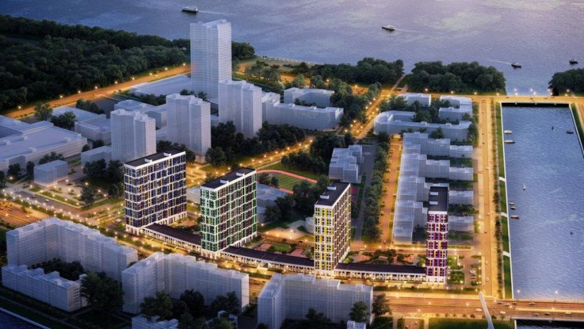 Smart-комплекс «LEGENDA Героев» панорама