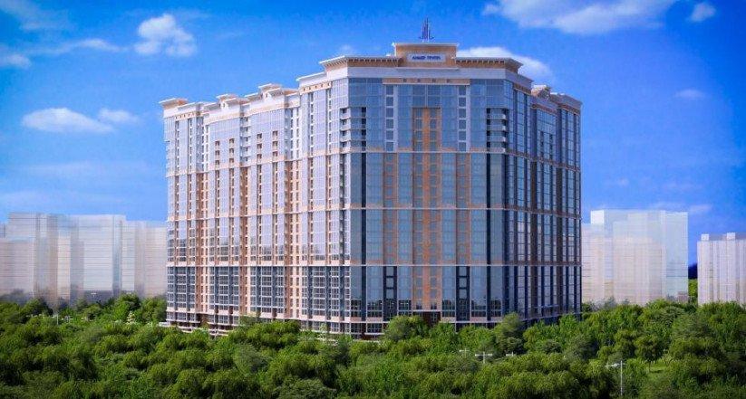 Жилой комплекс бизнес-класса LENINGRAD панорама
